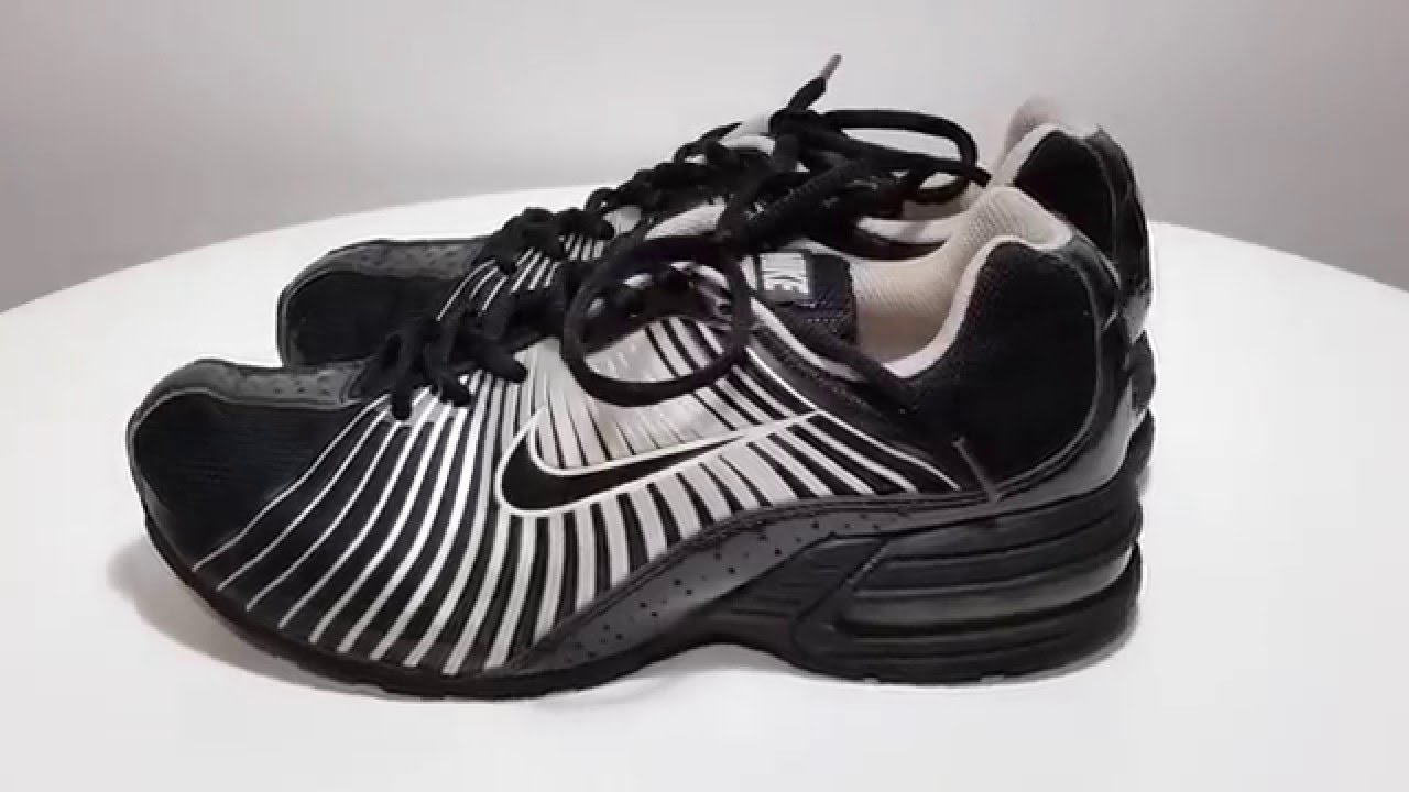 Womens black white silver NIKE TORCH 5 running athletic training shoes Size  7.5