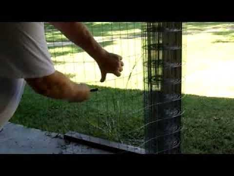 Making transport baskets to take chickens to the sell part 1