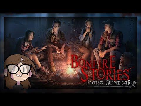 [ Bonfire Stories: The Faceless Gravedigger ] Hidden Object Game (Full Playthrough)