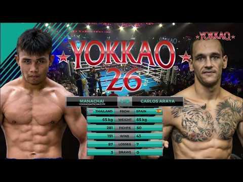 YOKKAO 26 Manachai VS Carlos Araya