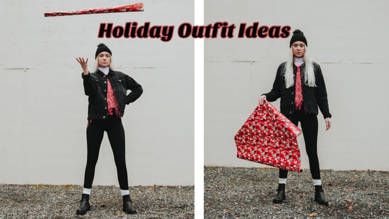 [VIDEO] - Holiday & Winter Outfit Ideas / rue21 | Sam Marie 2