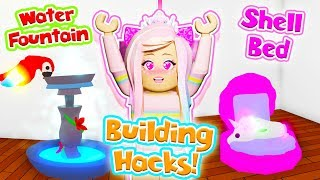 THE BEST BUILDING HACKS FOR YOUR PETS! // Roblox Adopt Me Life Hacks