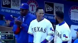 prince fielder first texas rangers home run