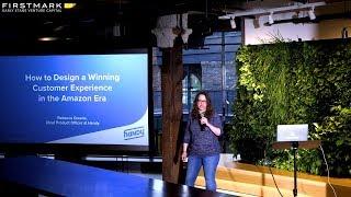 Design A Winning Customer Experience in the Amazon Era // Rebecca Greene, Handy (Design Driven NYC)