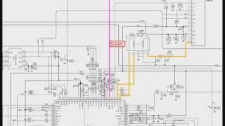 021 Circuito de som da TV Toshiba parte 1