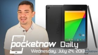Nexus 7, Android 4.3 and the Chromecast get announced - Pocketnow Daily