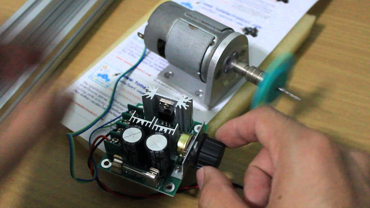 Watch on simple motor schematic