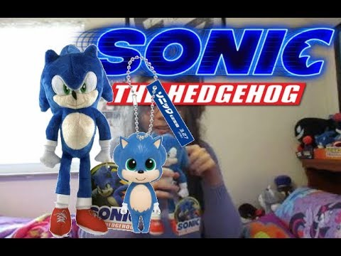Baby Sonic Keychain And Toy Factory Movie Sonic Plush Unboxing Youtube
