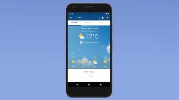 Die App von wetter.com: Wettervorhersagen, Live-Cams, Unwetterwarnungen und mehr