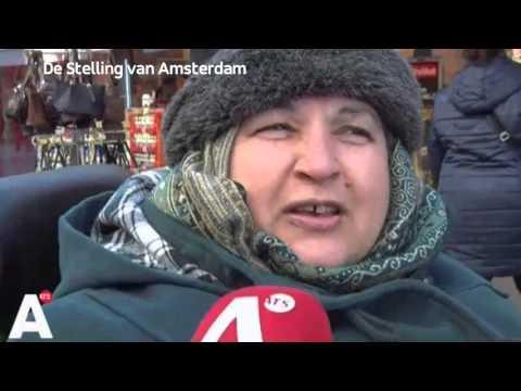 Paul Moers bij AT5   Stelling van Amsterdam V&D   18 februari 2016