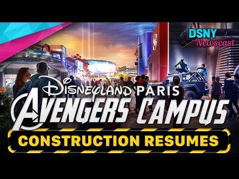 Construction Resumes on AVENGERS CAMPUS at Disneyland Paris - Disney News - 8/11/20