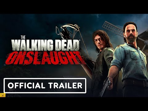The Walking Dead Onslaught - Official Trailer Reaction |