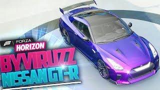"NISSAN GT-R DE ""byViruZz"" 2018 - FORZA HORIZON 3 / TUNING #3"