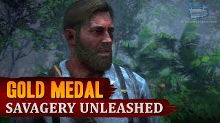 Red Dead Redemption 2 - Mission #59 - Savagery Unleashed [Gold Medal]