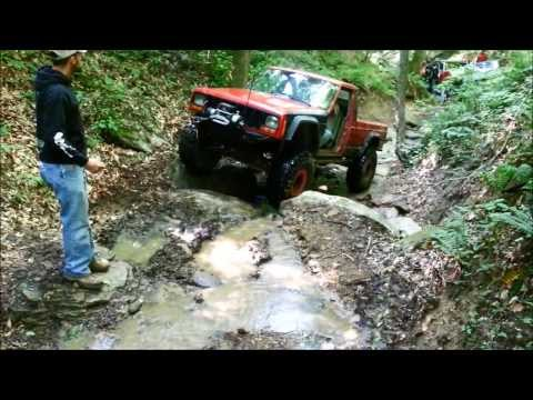 High Country Off Road Rock Crawling in Southern West Virginia