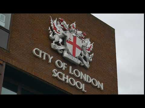 CITY OF LONDON SCHOOL SIGN