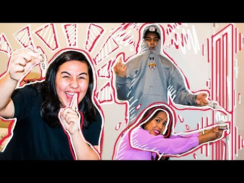 I TRAPPED MY FAMILY IN AN ESCAPE ROOM