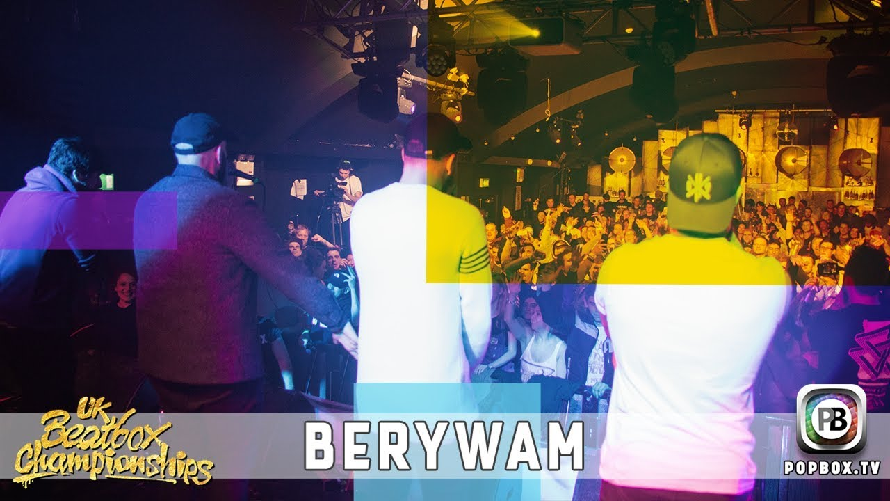 Berywam - Chinese Trap / Eminem Medley   Live at 2017 UK Beatbox Championships