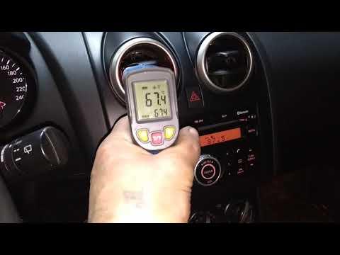 Ниссан кашкай+2,нет тепла в машине,подогрев двс,