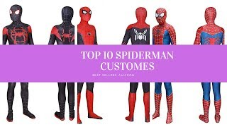 ✔️ TOP 10 BEST SPIDERMAN COSTUMES 🛒 Amazon 2019