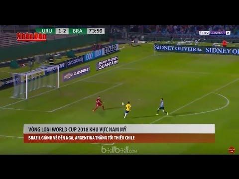 Tin Thể Thao 24h Hôm Nay (19h45 - 24/3): Brazil Giành Vé Dự World Cup, Argentina Thắng Nhọc Chile
