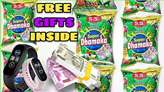 OMG got Smart Band watch inside Super Dhamaka snacks | Free Gifts and Money inside | Super Dhamaka
