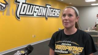 Towson student-athletes participate in Tiger Athletic Fund thank-a-thon