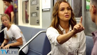 Camilla Luddington Talks 'Grey's' Season 15 on Train | TVLine