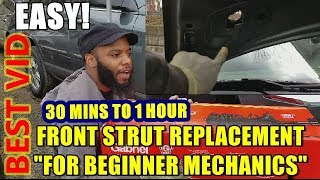 How To Replace Front Struts In 30 Minutes to 1 hour at Home 2004-2008 Chrysler Pacifica