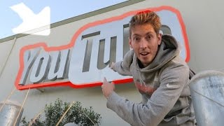 SNEAKING AROUND YOUTUBE HQ!