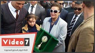 بالفيديو.. مهرجان الخيول العربية الأصيلة بمركز كوم حمادة فى البحيرة