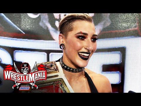 Rhea Ripley got her WrestleMania moment: WrestleMania 37 Exclusive, April 11, 2021