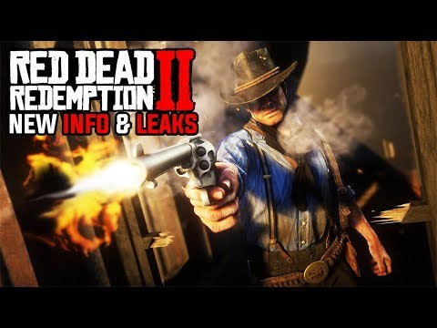 RED DEAD REDEMPTION 2 - 48 Hours Left:  New Trailer, Mexico Region, Special Events & Leaked Details!