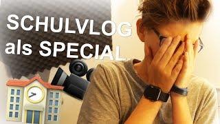 In der SCHULE VLOGGEN als 10k Special - Daily Vlog 16