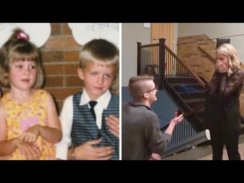 Lance Houston - They Met as Preschoolers, and Now They're Engaged!