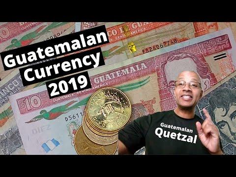 Guatemalan Currency - Guatemalan Quetzal 2019