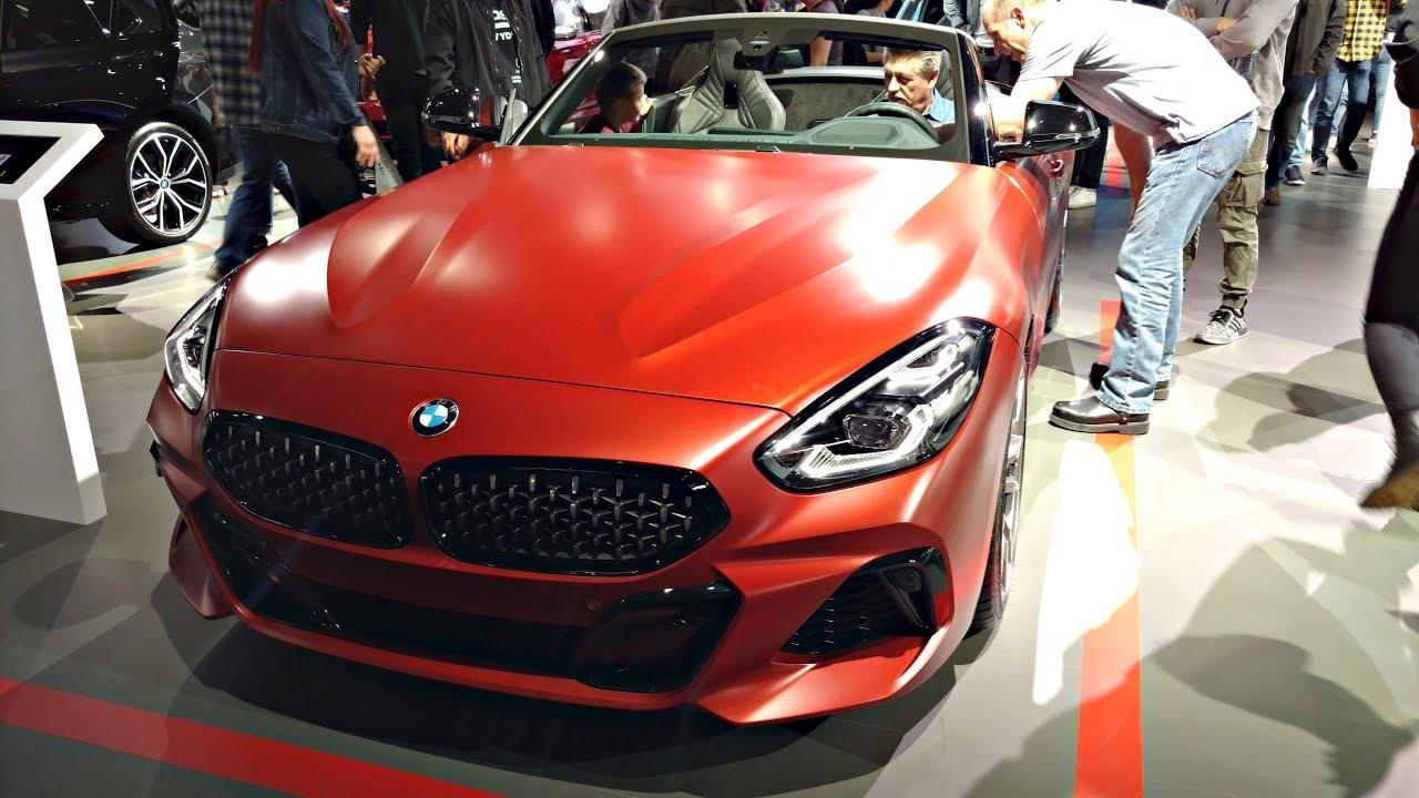 2020 Bmw Z4 M40i Pov Walkaround Exterior Interior 2018 La Auto