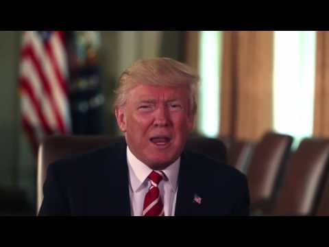 President Donald Trump Weekly Address to the nation 6-23-17