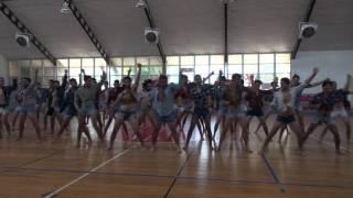 ריקוד בנים משותף חוף הכרמל 2016