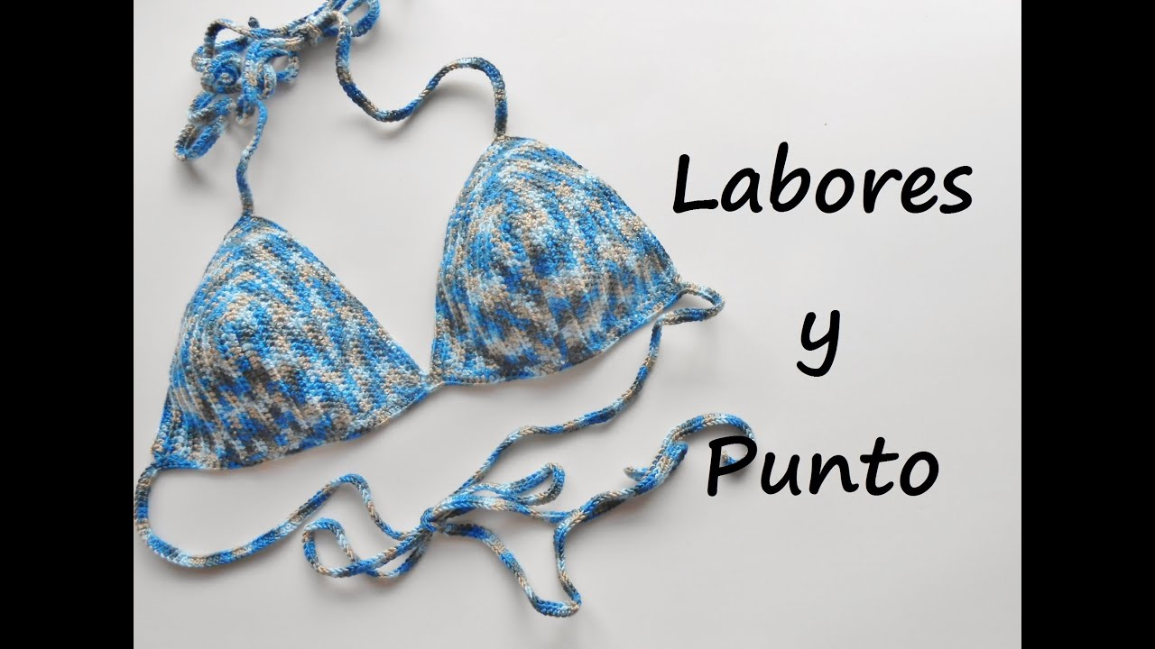 Como tejer un bikini a ganchillo o crochet - YouTube