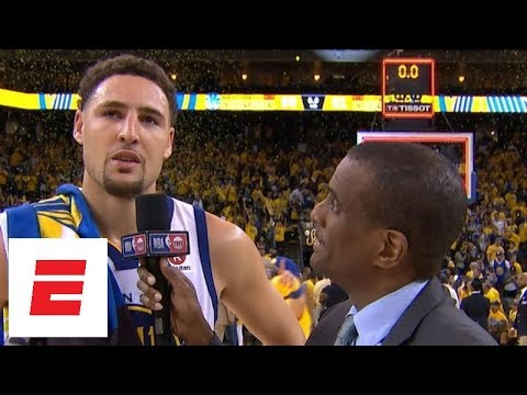 Klay Thompson on Warriors' ser warriors