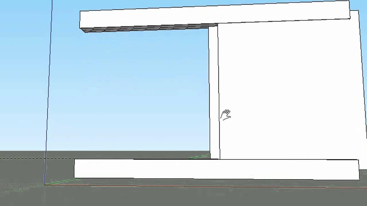 INSTALAÇÃO PERFIL DUPLO U DE PVC PARA GUARDA ARMÁRIO OU ROUPA simulação sketc -> Armario De Banheiro Pvc