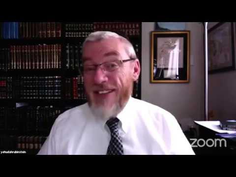 Rav YY Rubinstein  Ner Tamid Initiative Session 1