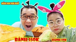 Bánh Bông Lan Thượng Hạng 150k vs Bánh Lề Đường 10k | Lớp Học Mầm Non Nhí Nhố