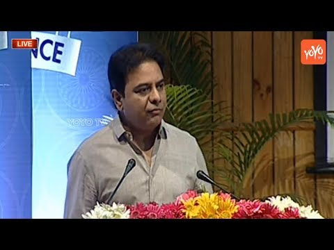 Minister KTR English Speech at Telangana Excellence Awards Distribution || YOYO TV Channel