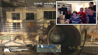 FAZE SNIPER HITS INSANE CLIP AT RED HOUSE + REACTIONS LMAO