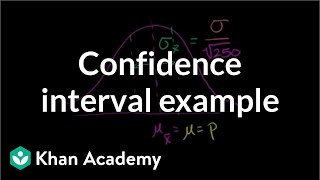 Confidence interval example | Inferential statistics | Probability and Statistics | Khan Academy