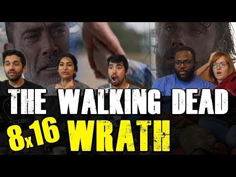 Walking Dead - Season 8 Finale!! 8x16 WRATH - Group Reaction
