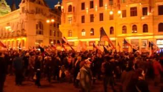 17.listopad 2015 - Pochod Prahou