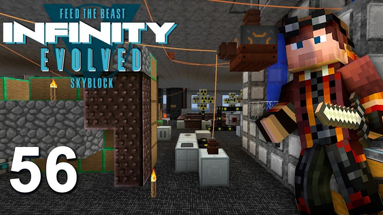 Infinity world minecraft сборка